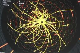 CMS trajektoria cząstek