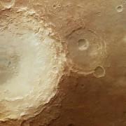 Mars, region Arabia Terra - niestety brak jezior