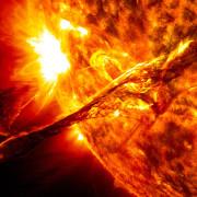 Słoneczna erupcja