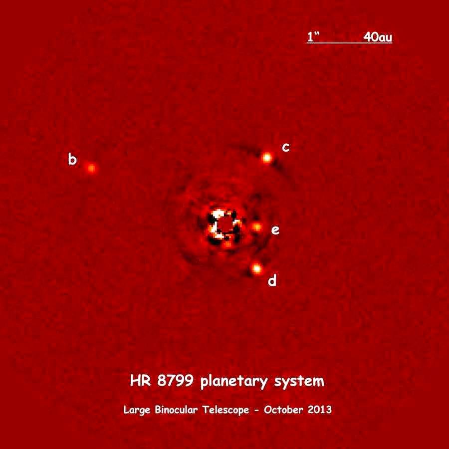 System planetarny HR8799